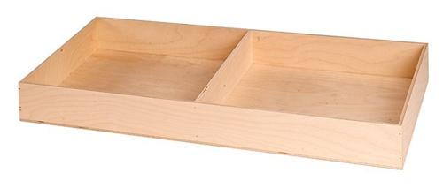 Large College Dorm Trunk Hardwood Tray